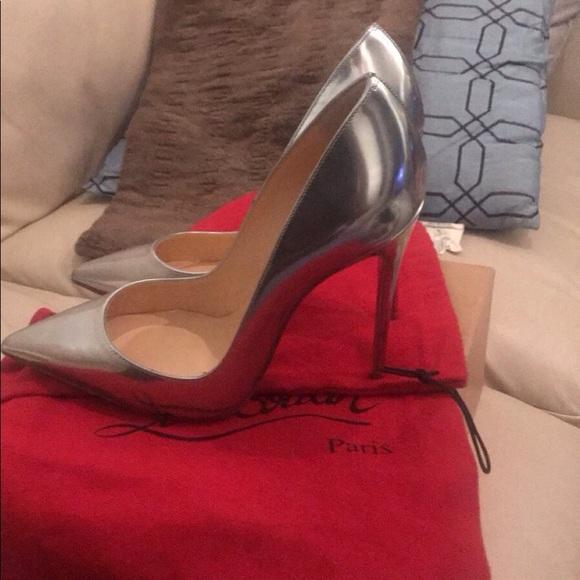 sports shoes c1a3c 20a49 Christian Louboutin So Kate pumps NWT